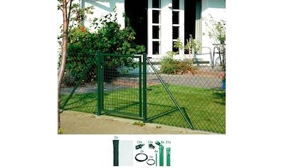 GAH Alberts Maschendrahtzaun, 125 cm hoch, 50 m, grün beschichtet, zum Einbetonieren kaufen