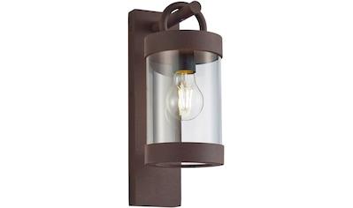 TRIO Leuchten Außen-Wandleuchte »Sambesi«, E27, Dämmerungssensor, Leuchtmittel tauschbar kaufen