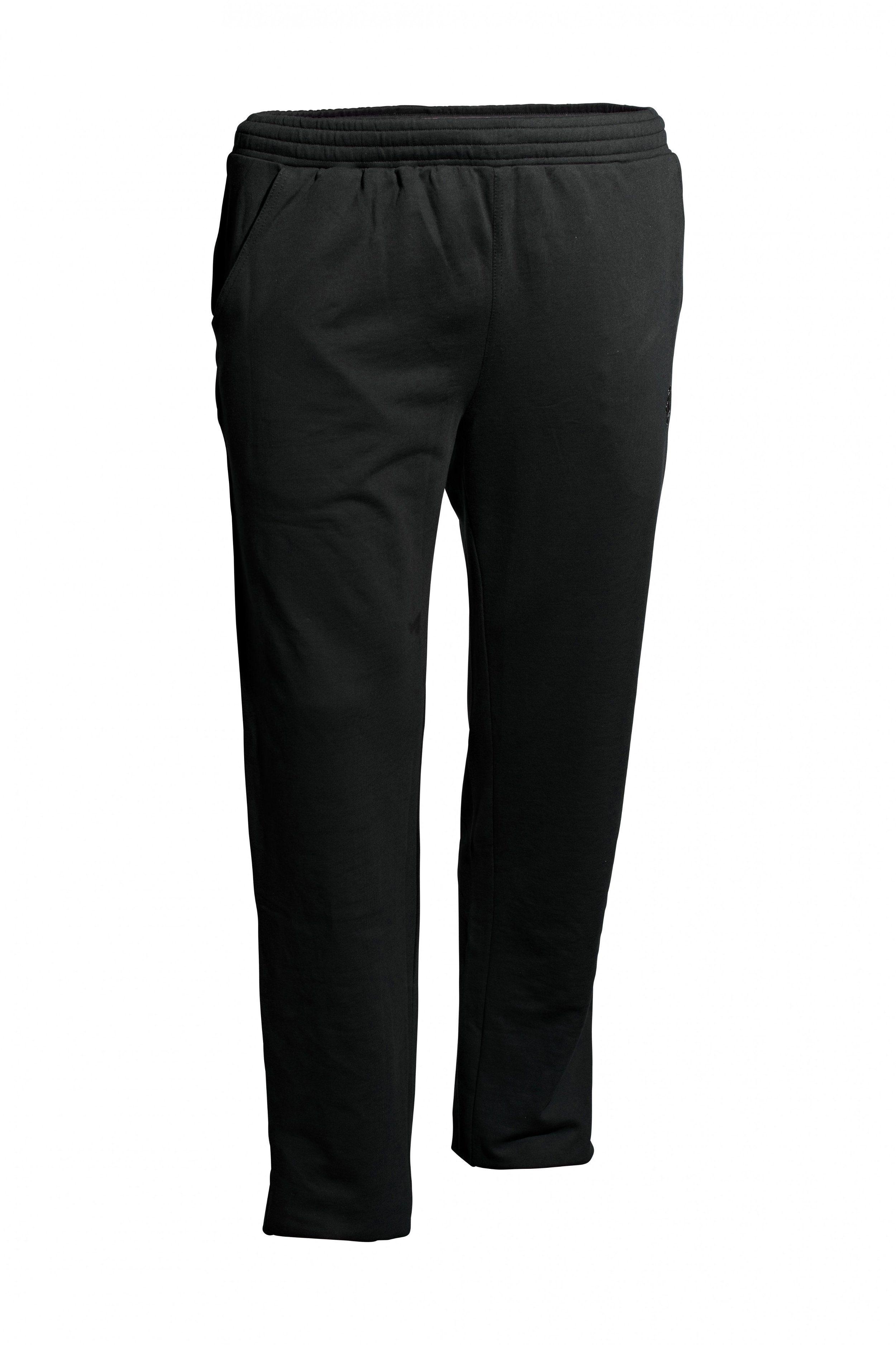 AHORN SPORTSWEAR Sweatpants in sportlichem Look   Bekleidung > Hosen > Sweathosen   Schwarz   Polyester   Ahorn Sportswear