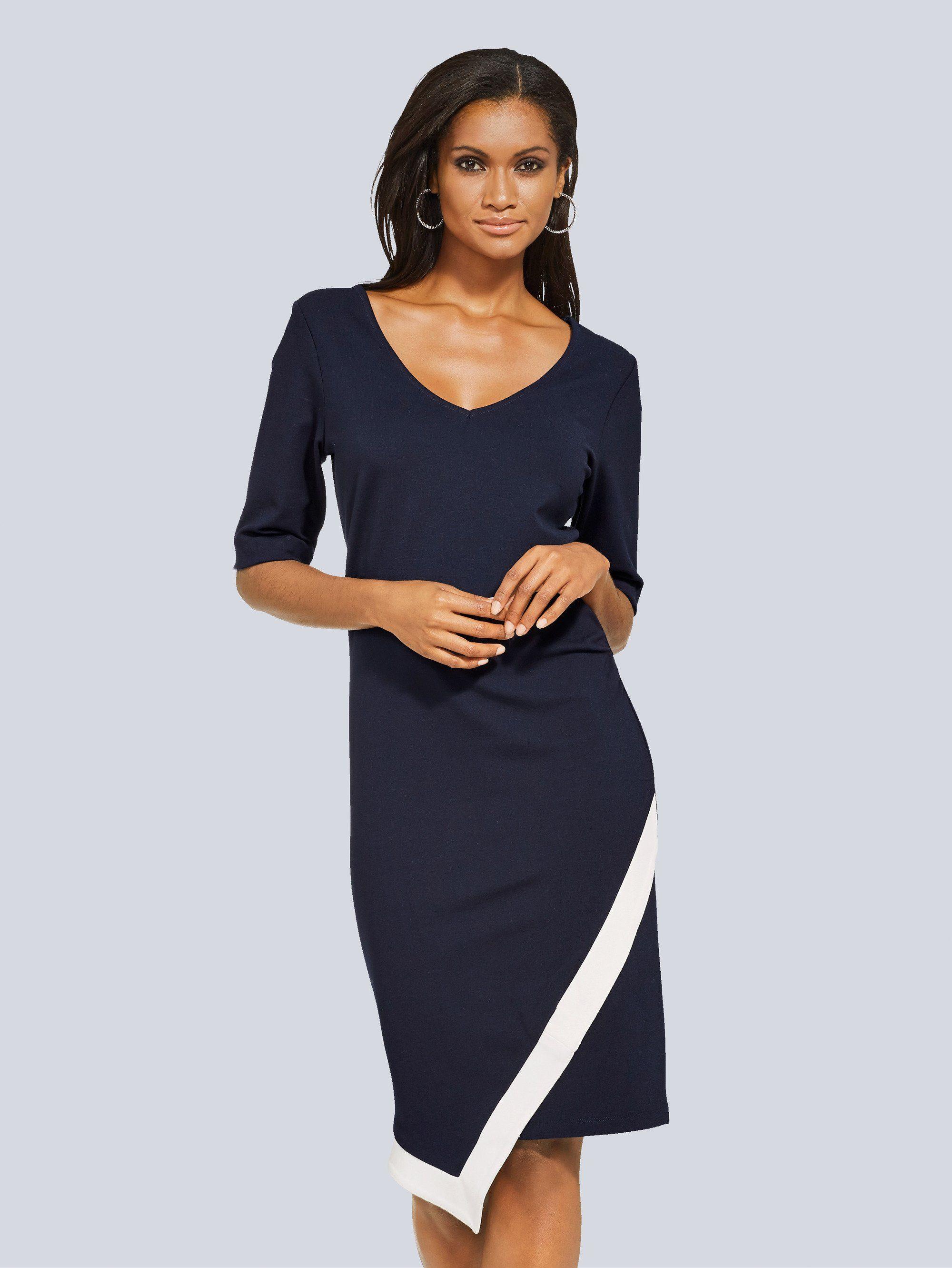Alba Moda Kleid mit schöner Kontrastblende online kaufen ...