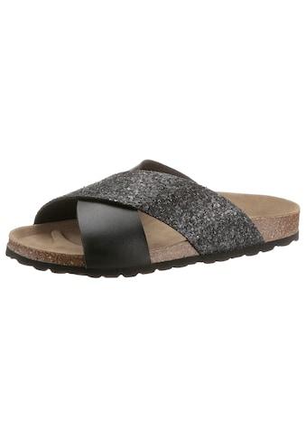 Bio Time Pantolette, mit ergonomisch geformtem Fußbett kaufen