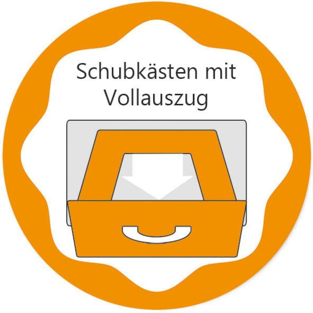 arthur berndt Wickelkommode »Joris«, bis 15 kg, Made in Germany, 130 cm