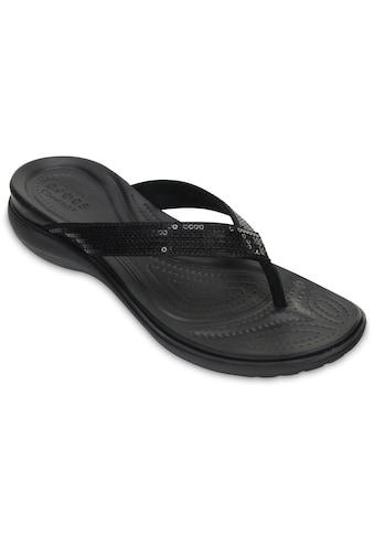 Crocs Zehentrenner »Capri V Sequin« kaufen