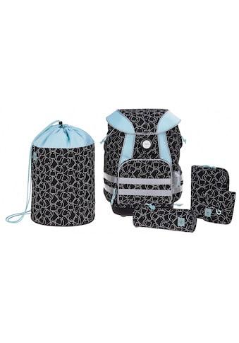 Lässig Schulrucksack »4Kids School Set, Spooky Black« (Set, 5 tlg.) kaufen