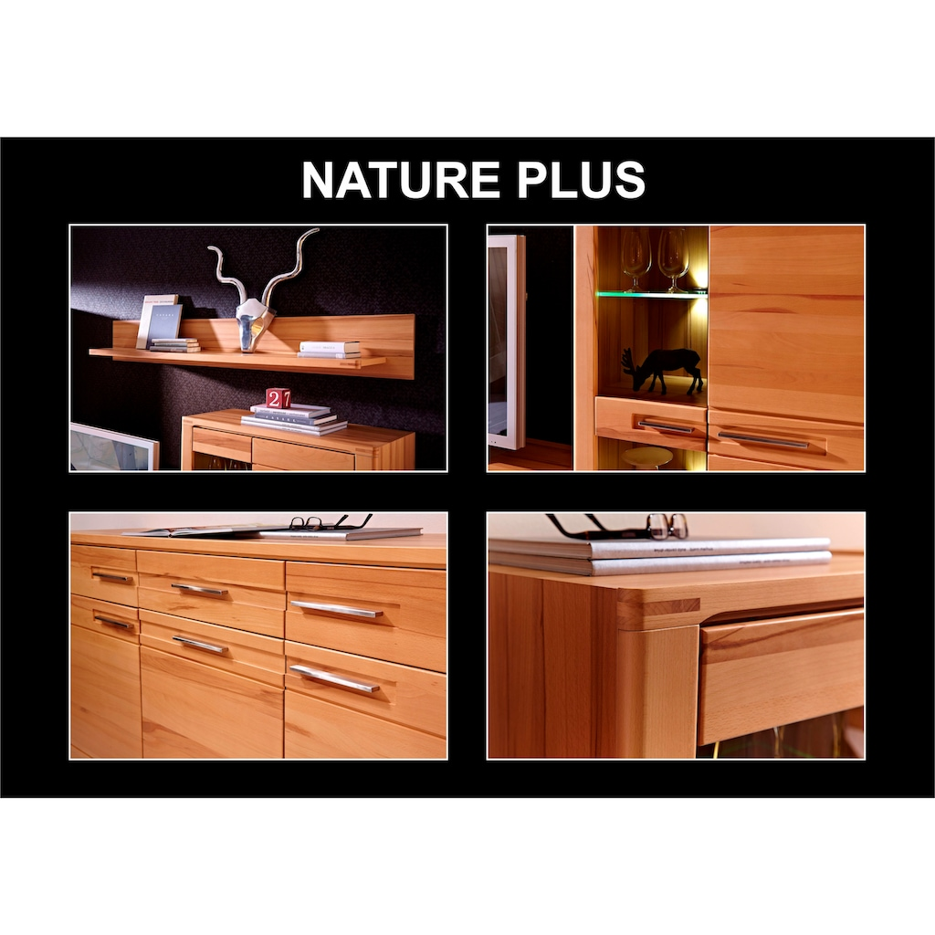 Innostyle Standvitrine »Nature Plus«, inklusive LED-Beleuchtung