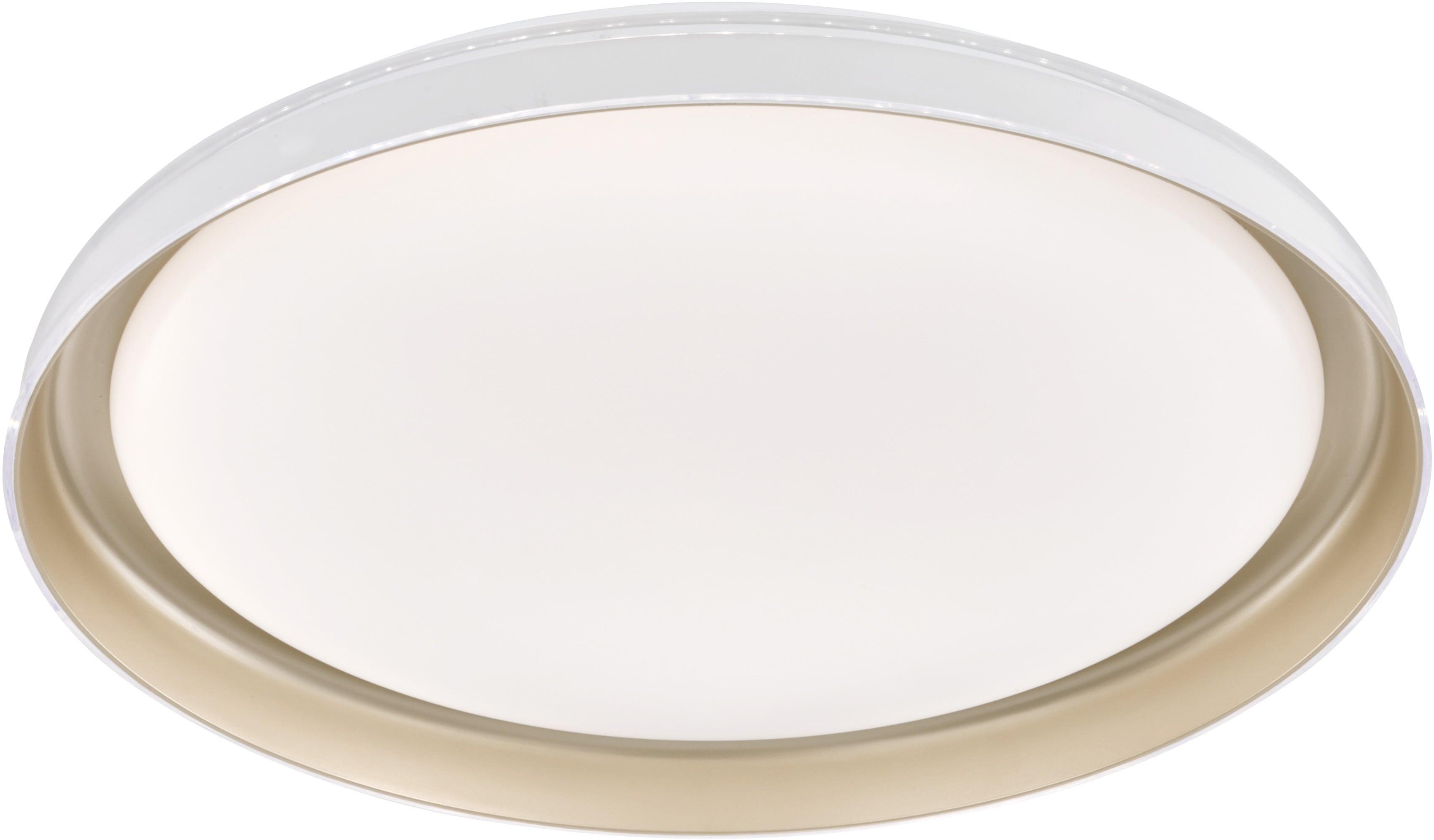FISCHER & HONSEL LED Deckenleuchte Rilla, LED-Modul, Warmweiß