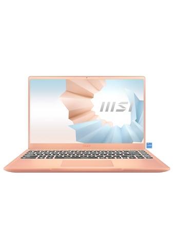 MSI Modern 14 B11SB - 086 Notebook (35,7 cm / 14 Zoll, Intel,Core i7, 512 GB SSD) kaufen