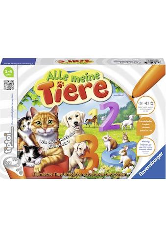 Ravensburger Spiel »tiptoi® Alle meine Tiere«, Made in Europe, FSC® - schützt Wald -... kaufen