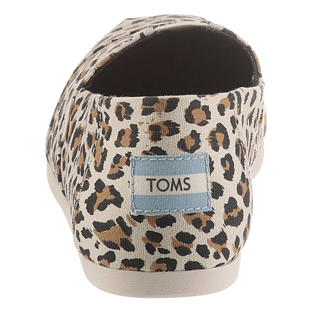 TOMS Espadrille, im trendigen Animal-Look