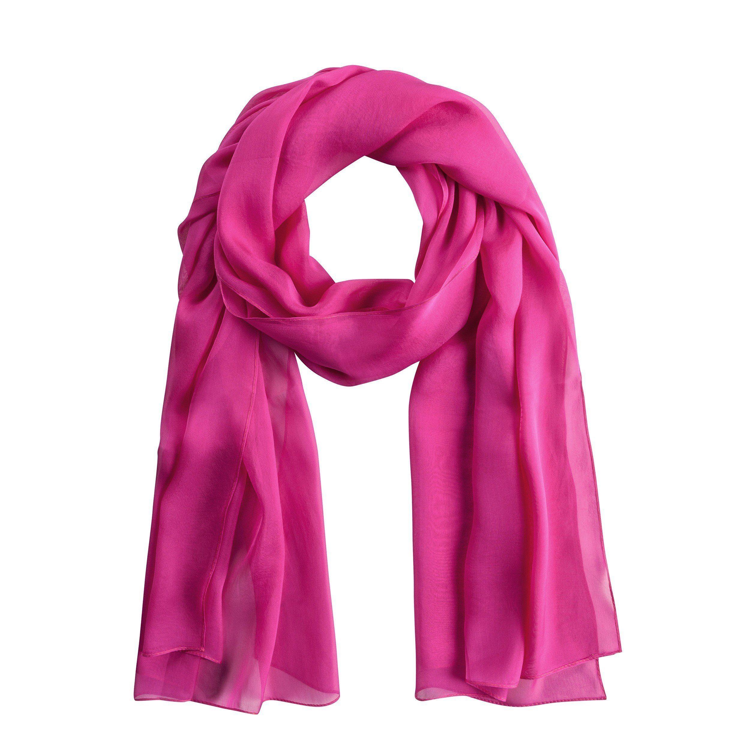 Codello Seidenschal mit unifarbenem Design   Accessoires > Schals & Tücher   Rosa   Seide   Codello