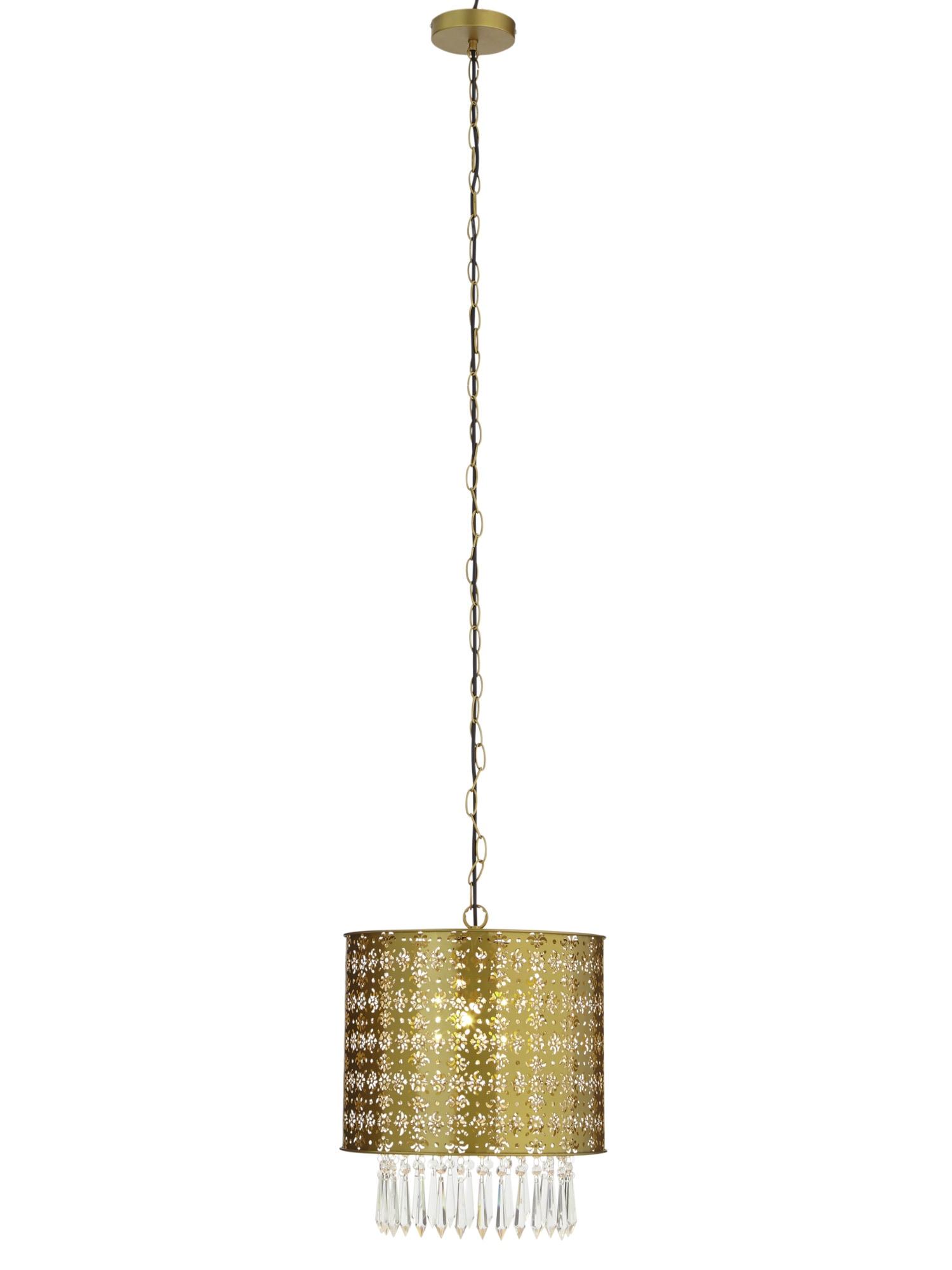 heine home Pendelleuchte mit Glassteinbehang