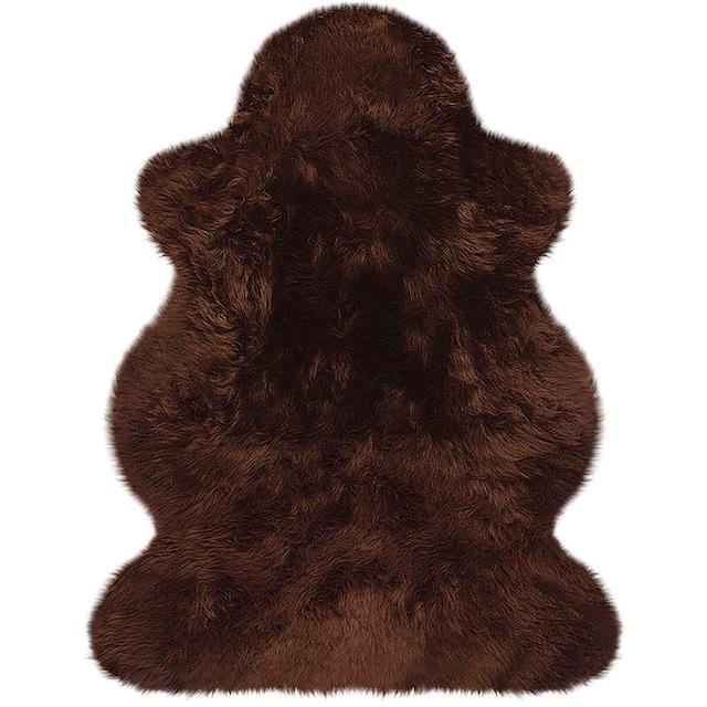 Fellteppich, »Lammfell farbig«, Heitmann Felle, fellförmig, Höhe 70 mm, gegerbt