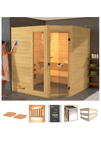 weka Sauna »Lars Eck 2«, 7,5 kW Ofen mit ext. Steuerung kaufen