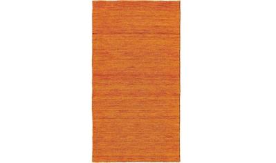 Wollteppich, »Lindsay«, Dekowe, rechteckig, Höhe 12 mm, handgewebt kaufen