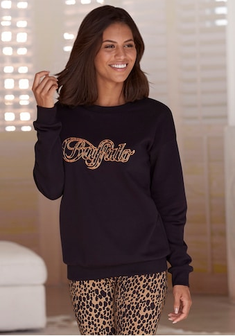 Buffalo Sweatshirt, Logo Applikation im Brustbereich kaufen