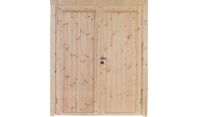 Wolff Gartenhaustür »Knut XL 40«, Doppelflügeltür, BxH: 158,8x208 cm kaufen