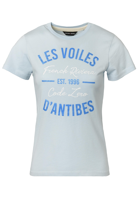 CODE-ZERO T-Shirt Antibes Marina T-Shirt Damen