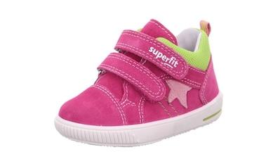Superfit Sneaker »Moppy WMS Weiten-Messsystem: mittel«, mit doppeltem Klettverschluss kaufen