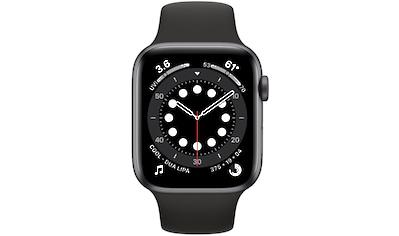 Apple Series 6 GPS, Aluminiumgehäuse mit Sportarmband 44mm Watch (Watch OS) kaufen