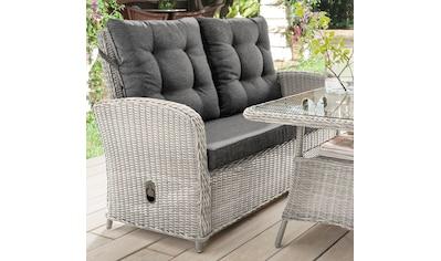 DESTINY Loungesofa »Merano II«, 2er - Sitzer, Polyrattan, inkl. Auflagen kaufen