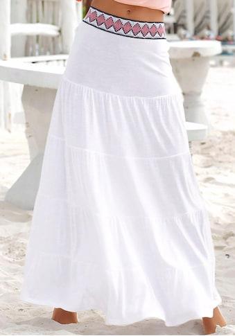 s.Oliver Beachwear Maxirock kaufen