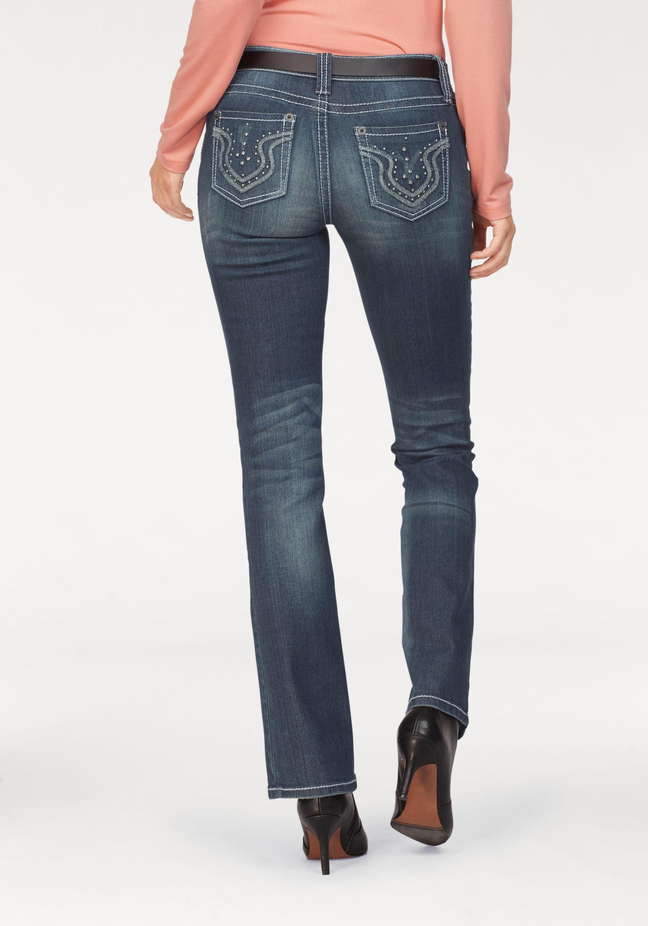 Damen Laura Bootcut Jeans