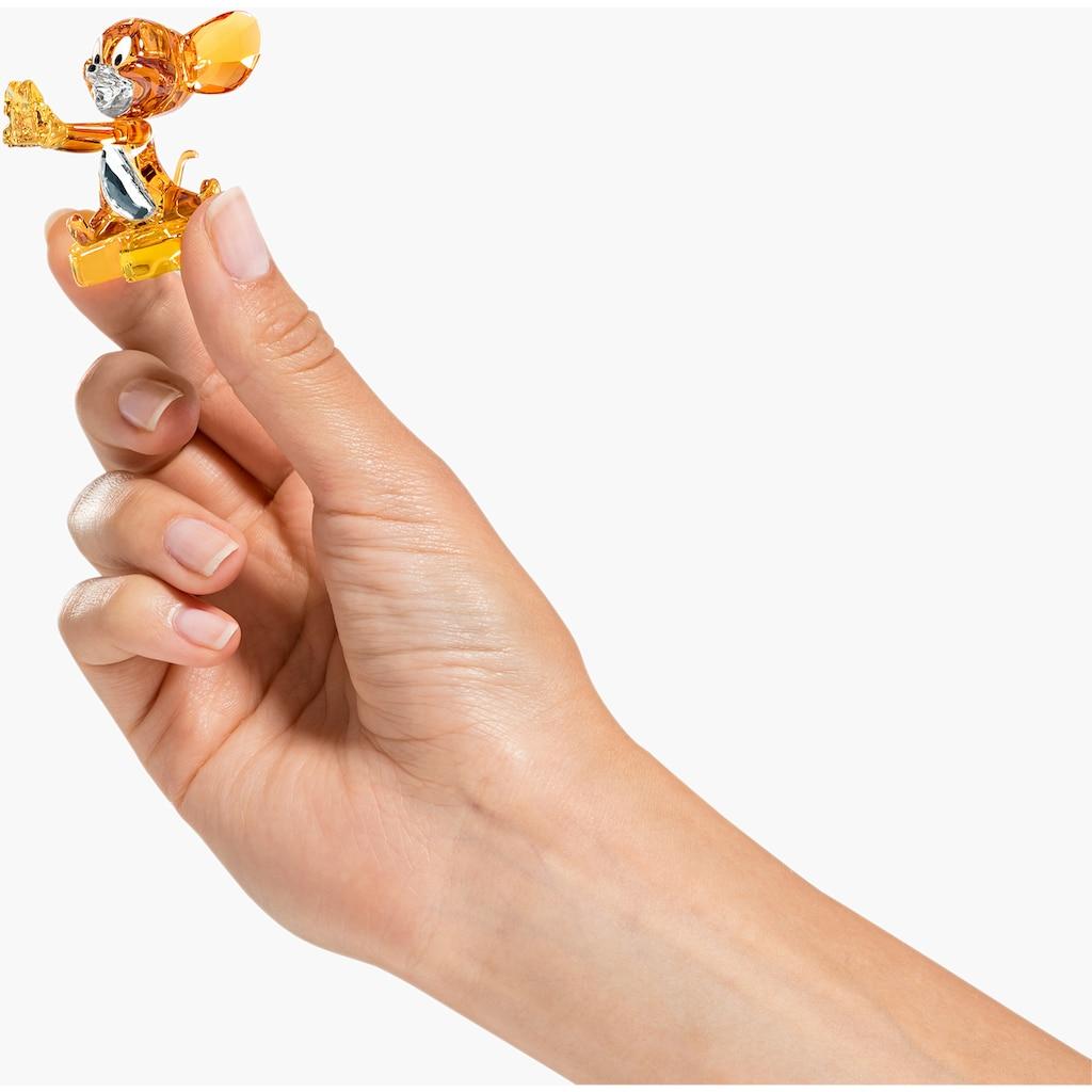 Swarovski Comicfigur »Tom und Jerry, Jerry, 5515336«, Swarovski® Kristall mit schwarzem Emaille