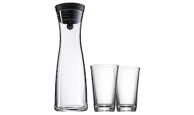 WMF Wasserkaraffe 1,0l, mit Kippdeckel inkl. 2 Gläser »Basic« kaufen