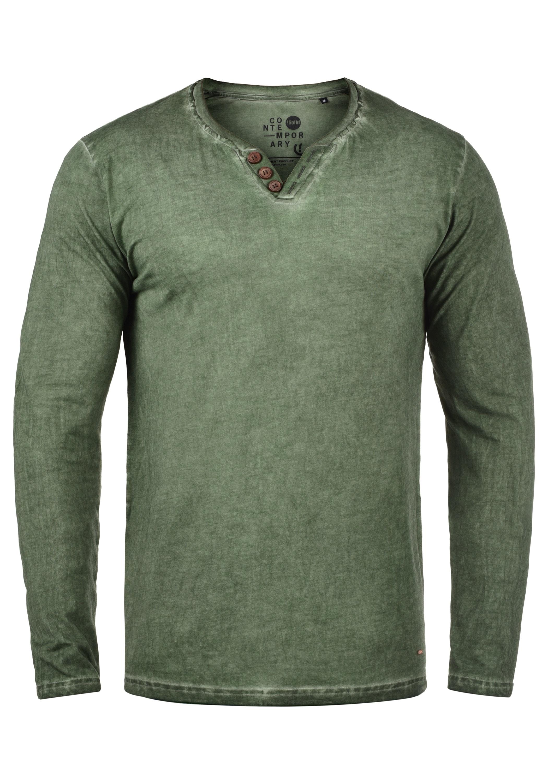 solid -  Langarmshirt Tinox