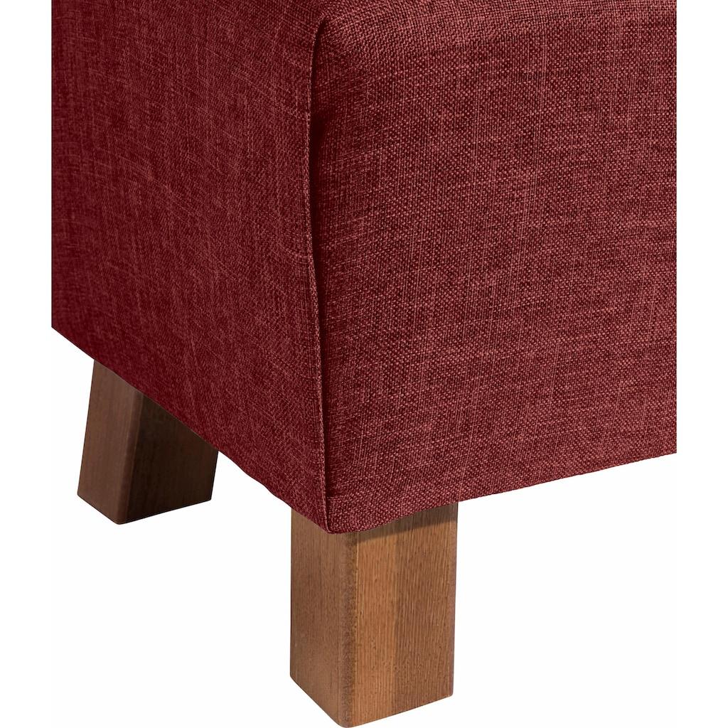 Max Winzer® Fußhocker »Footstool«, Minihocker Breite 40 cm
