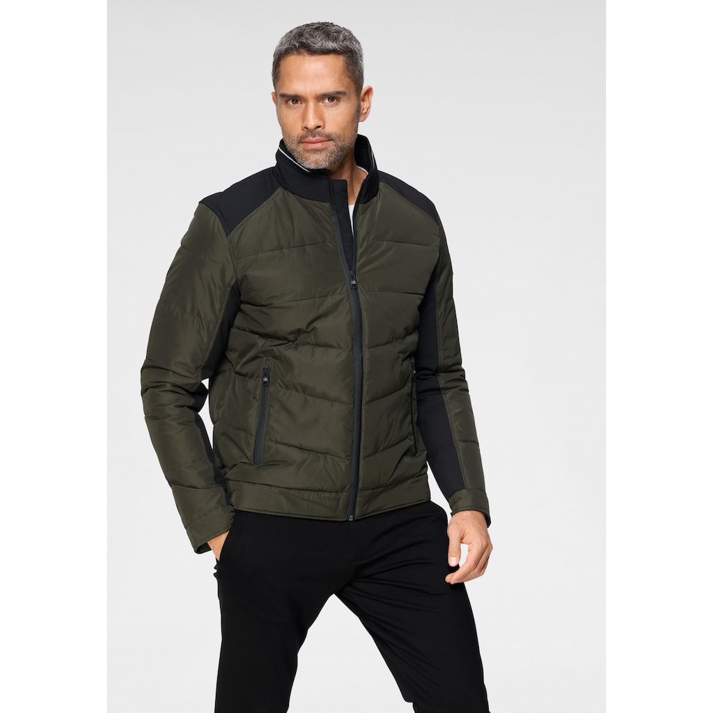 Calvin Klein Steppjacke »MIX MEDIA QUILTED JACKET«