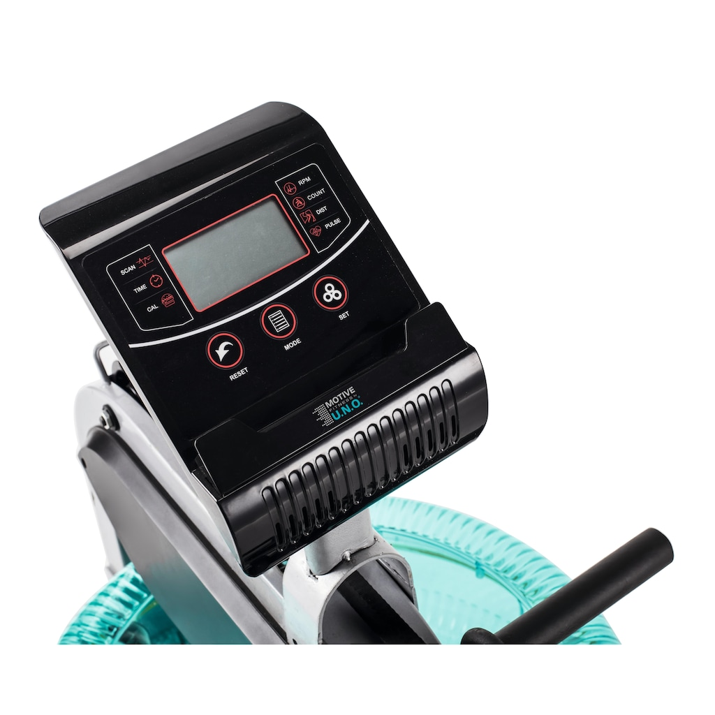 MOTIVE FITNESS by U.N.O. Rudergerät »WR 500«, Bluetooth für IOS oder Android: Fitness Data