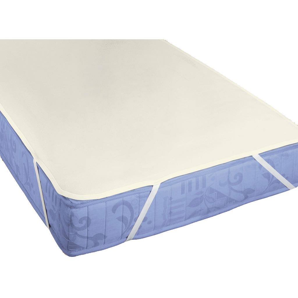"Biberna Matratzenauflage »Molton-Matratzenauflage ""Premium Qualität""«"