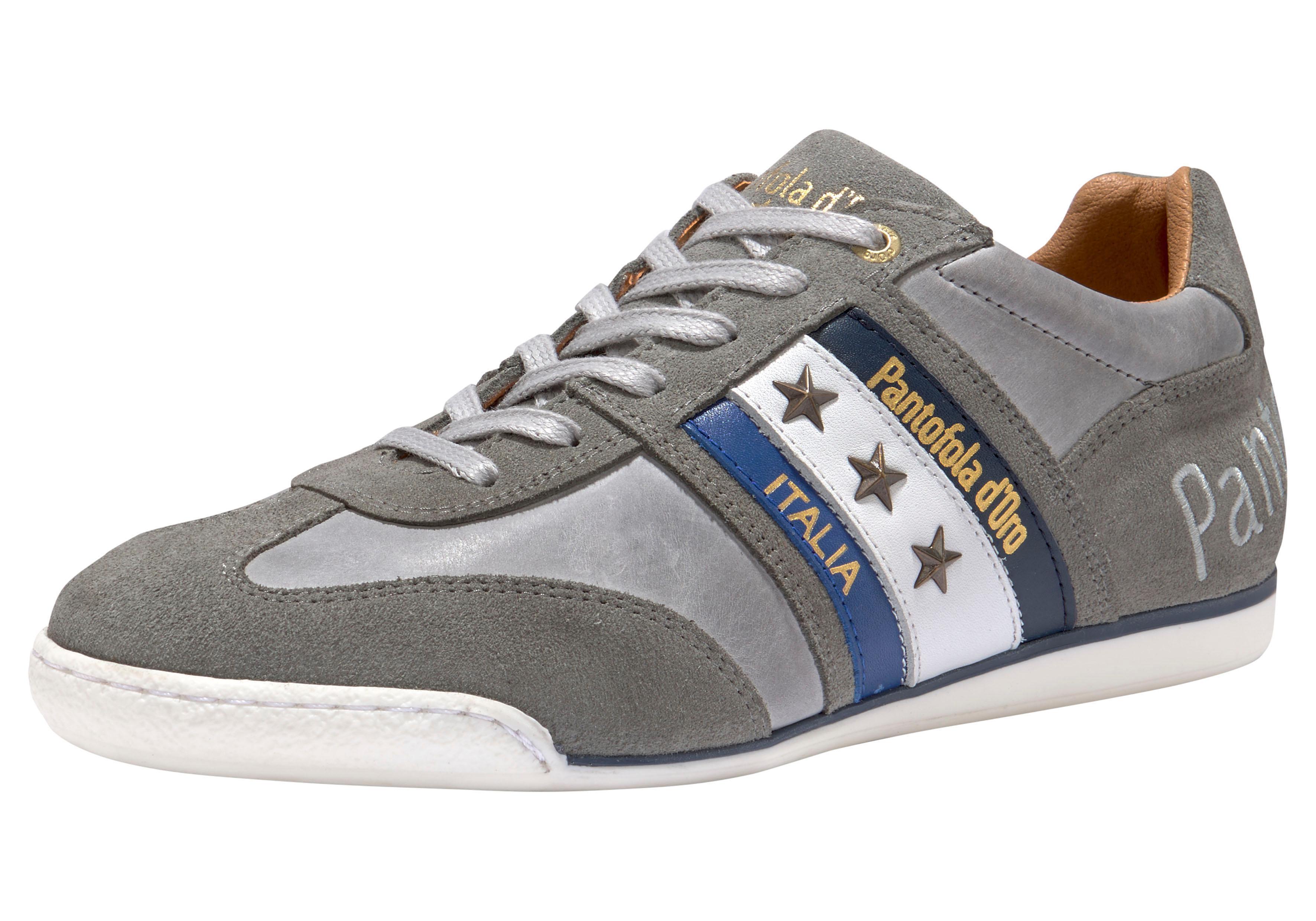 Pantofola d´Oro Sneaker Imola Uomo Low | Schuhe > Sneaker > Sneaker low | Grau | Velours | Pantofola D´oro