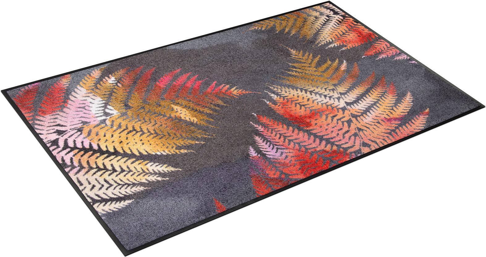 Teppich Erbario wash+dry by Kleen-Tex rechteckig Höhe 7 mm gedruckt