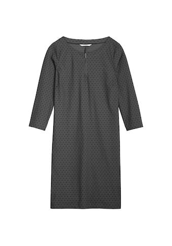 Sandwich Kleid aus Travel Jersey mit Schnürung kaufen