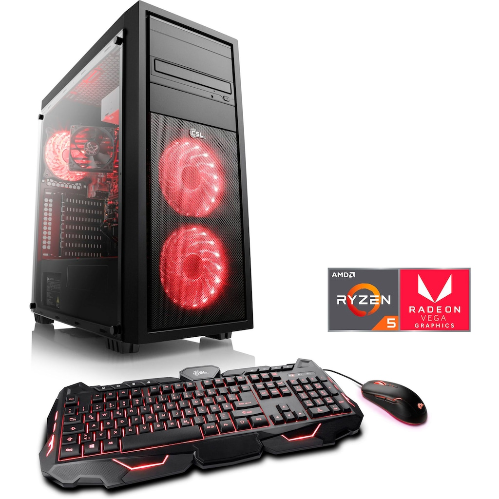 CSL Gaming-PC »Sprint T8484«