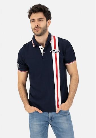Goodyear Poloshirt, mit modischer Flaggen-Applikation kaufen