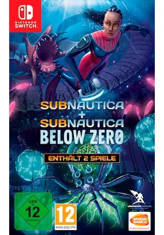 Bandai Spiel »Subnautica + Subnautica: Below Zero«, Nintendo Switch kaufen