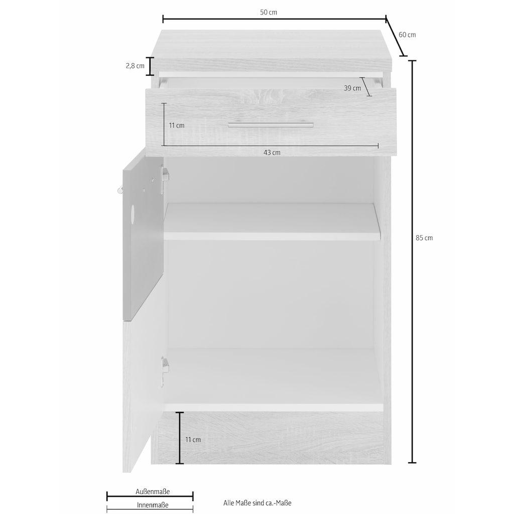 HELD MÖBEL Unterschrank »Perth«, Unterschrank, Breite 50 cm