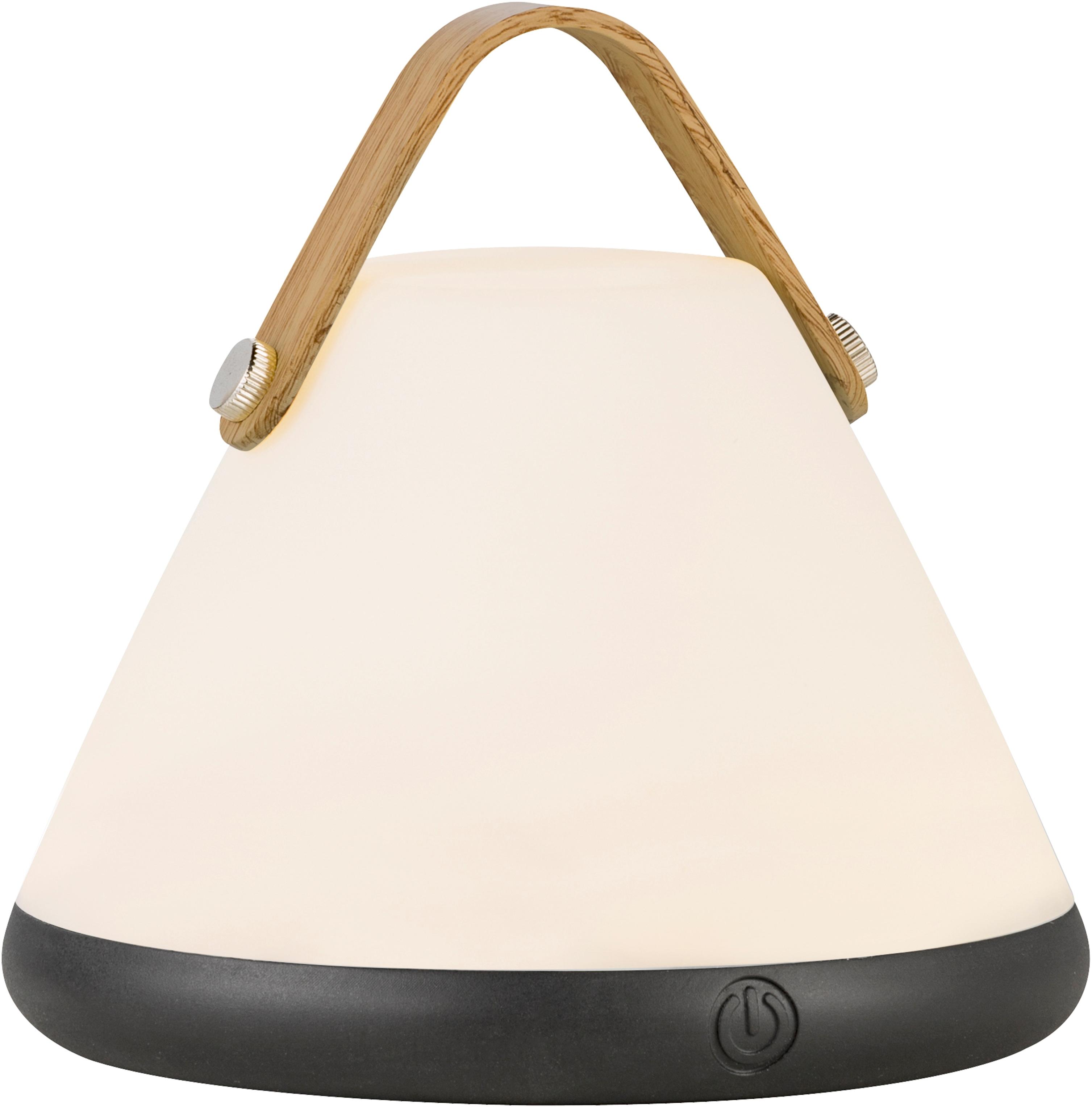 design for the people LED Tischleuchte STRAP, LED-Modul, Portable LED Leuchte, inkl. LED und Dimmer