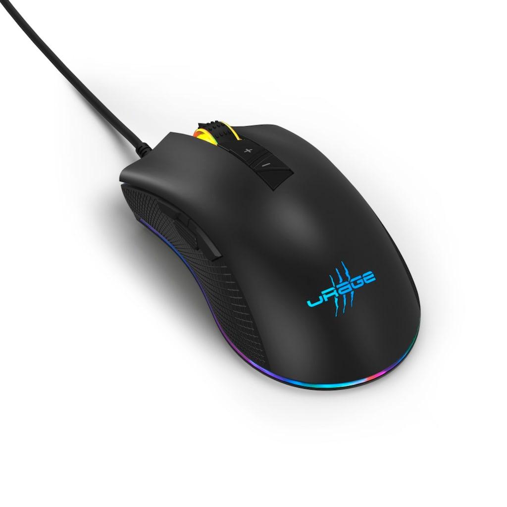 uRage Gaming-Maus, kabelgebunden-USB, Reaper 400
