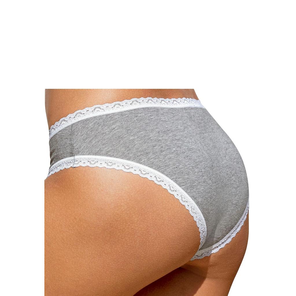 Sloggi Panty, mit zarter Spitzeneinfassung