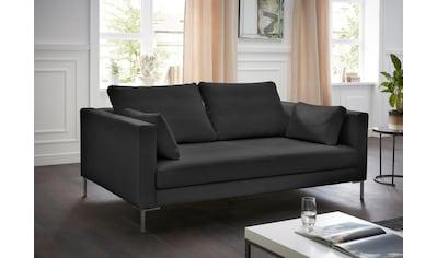 Alte Gerberei 2-Sitzer »Marinus«, mit schmalen Lehnen, inklusive Rückenkissen &... kaufen