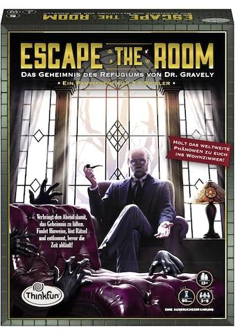 Thinkfun® Spiel »Escape the Room - Das Geheimnis des Refugiums von Dr. Gravely« kaufen