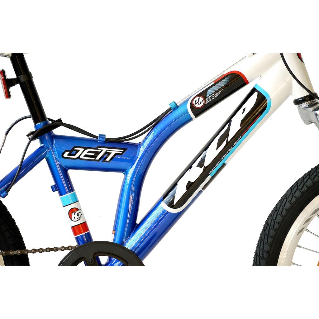 KCP Kinderfahrrad »Jett SF«, 6 Gang, Shimano, Tourney RD-TZ500-GS Schaltwerk, Kettenschaltung