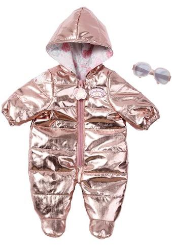 Baby Annabell Puppenkleidung »Deluxe Schneeanzug, rosegold« kaufen