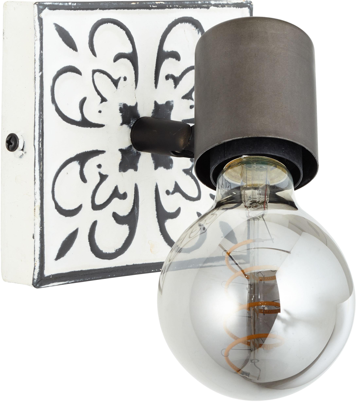 Brilliant Leuchten Wandstrahler Vagos, E27, Vintage, Metall, E27, 1 x 28W