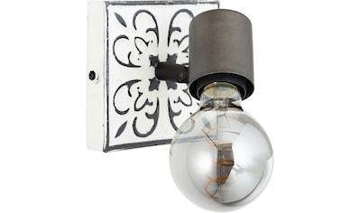 Brilliant Leuchten Wandstrahler »Vagos«, E27, Vintage, Metall, E27, 1 x 28W kaufen