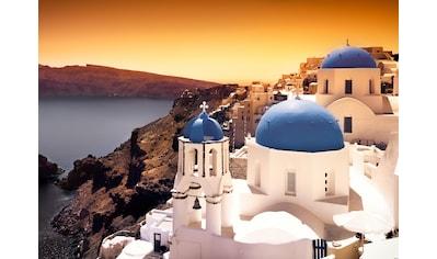 Papermoon Fototapete »Santorini Sunset« kaufen